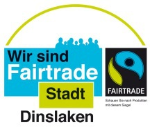 Logo Fairtrade-Stadt Dinslaken